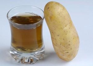 Картофельный сок излечивает язву желудка.