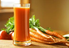 Морковный сок от гайморита
