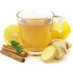 Из корня имбиря можно приготовить полезный чай.